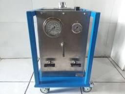 Bomba Hidropneumatica Haskel para teste de pressão