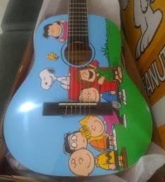 Violão Infantil Snoopy Peanuts 1/4