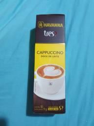 Cápsulas três corações cappuccino com doce de leite
