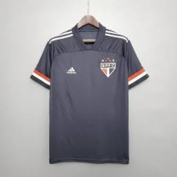 Camisa São Paulo Third Preta 2020 / 2021 - Torcedor