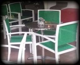 Título do anúncio: Cadeira de alumínio com textilene