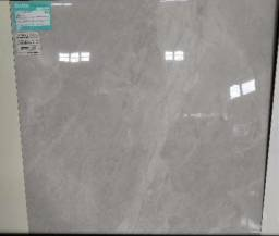 Porcelanato polido 70x70 marmorizado