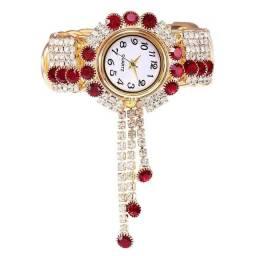 Título do anúncio:  Mega promoção relógio feminino Quartz