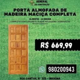 Título do anúncio: Porta de madeira maciça