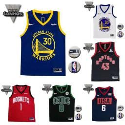 Título do anúncio: Camiseta NBA diversos times / Bulls, Lakers, Golden State warriors
