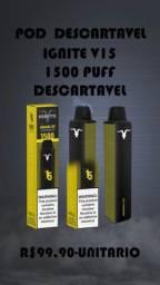Título do anúncio: Pod Ignite V15 1.500 PUFF