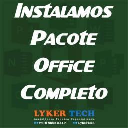 Título do anúncio: Instalação pacote office  completo