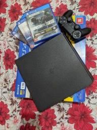 Vendo PS4 SLIM 1TB | TROCO POR IPHONE 8 PLUS
