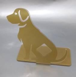 Título do anúncio: Suporte para carregar celular cachorro dourado