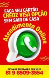 Cartão Credz Visa Internacional / Cartão Fort Brasil