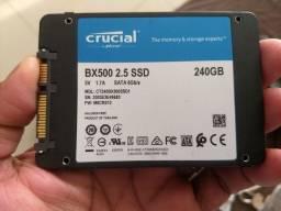 Título do anúncio: HD SSD 240gb. BX500 CRUCIAL
