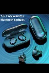 Y30 TWS Fone De Ouvido com Bluetooth 5.0