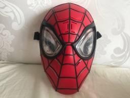 Título do anúncio: Máscara luminosa e som do Homem Aranha