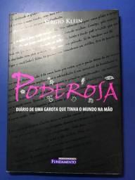 Livro Piderosa, diário de uma garota que tinha o mundo na mão
