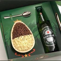 Ovo de colher + cerveja
