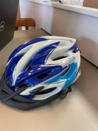 Título do anúncio: Capacete de bike azul