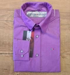 Camisas Sociais 100% algodão