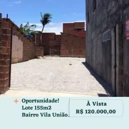Título do anúncio: Lote/Terreno para venda tem 155 metros quadrados em Vila União - Fortaleza - CE