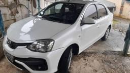 Título do anúncio: Etios sedan XS 1.5 ano 2018 em excelente estado