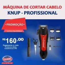 Maquina de cabelo Knup QR-086 ? Entrega Gratis