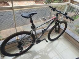 Título do anúncio: Bicicleta bike oggi 7.0 tam 19 zera