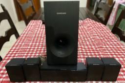 Título do anúncio: Home theater Blu-Ray Samsung 500w 5.1 canais