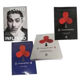 Kit Livros Geração De Valor 1 2 3 Ponto De Inflexão F. Augus