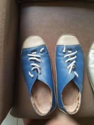 Título do anúncio: Sapatênis da soulier, 6 pares número 38