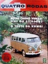 Quatro Rodas n°. 30 - Teste de VW Kombi 1963