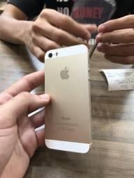 IPhone 5s 16Gb Dourado - Sistema Operacional não funciona