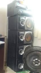 Som SONY FST- ZUX9 880W RMS