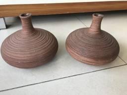 Caso em cerâmica marrom