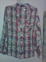 Camisa xadrez G/GG