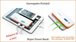 Carregador Portátil para celular - Super Power Bank