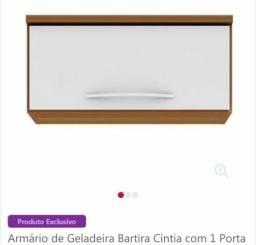 Armário de geladeira 1 porta