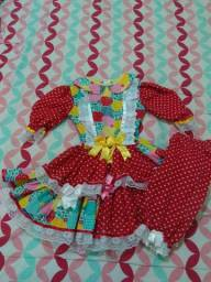 Vestido caipira e festa junina