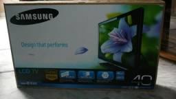 TV Samsung 40 pol full hd zerada aqui vendedor existe produto existe telefone existe