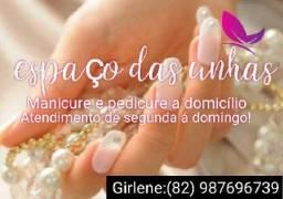 Manicure a domicílio 82 987696739