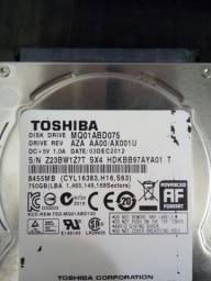 Hd Toshiba 750GB Notebook
