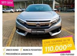HONDA CIVIC 2018/2018 1.5 16V TURBO GASOLINA TOURING 4P CVT - 2018