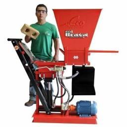 Máquina de Tijolos Ecológicos EcoBrava