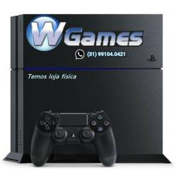 Playstation 4 500gb 1215 Fosco , Semi Novo, garantia, manete, Fifa 16. Zap/Cel 991040421