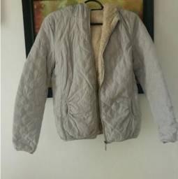 Caso/jaqueta cinza