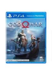 Jogo God of War -Ps4 Jogo Lacrado Novo!!