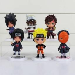 Naruto figura de ação colecionável 11 peças