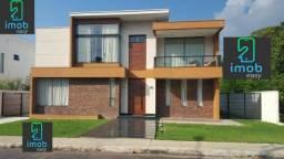 Mediterrâneo com 4 suítes + edicula + piscina + escritório (fino acabamento)semi-mobiliada