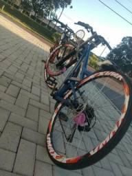 Bike rebaixada totem troco por bike alta