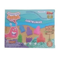 Areia Cinética Mágica Loucos Por Areia Zoop Toys Infantil Bege