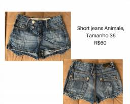 Short Jeans Animale