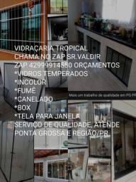 COLOCAÇÃO DE VIDROS E BOX